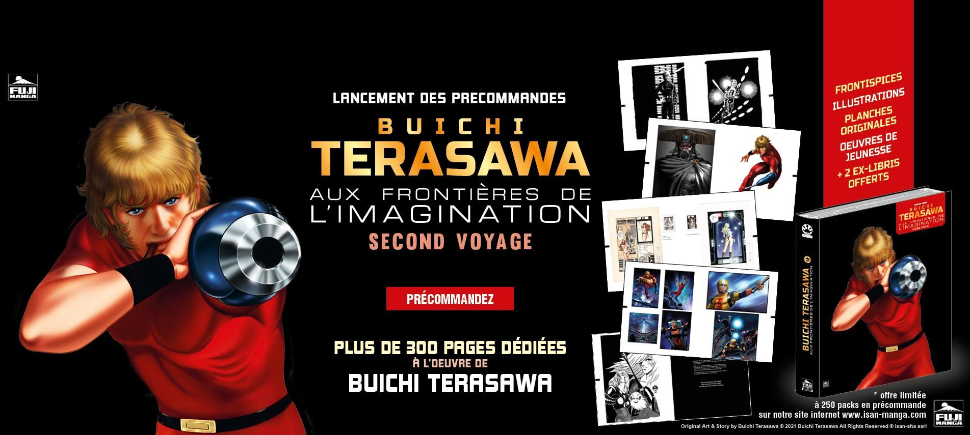 Plus de 300 pages dédiées à l'oeuvre de Buichi Terasawa, l'auteur de Cobra