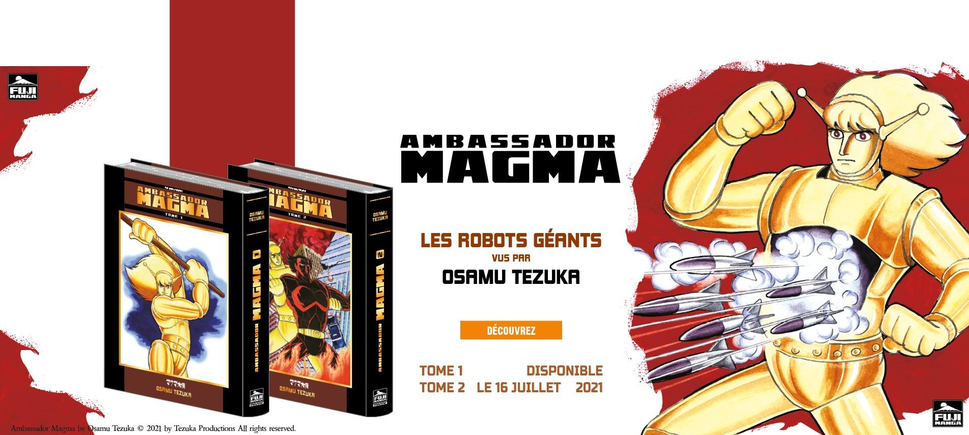 Ambassador Magma - Les Robots Géants vus par Tezuka