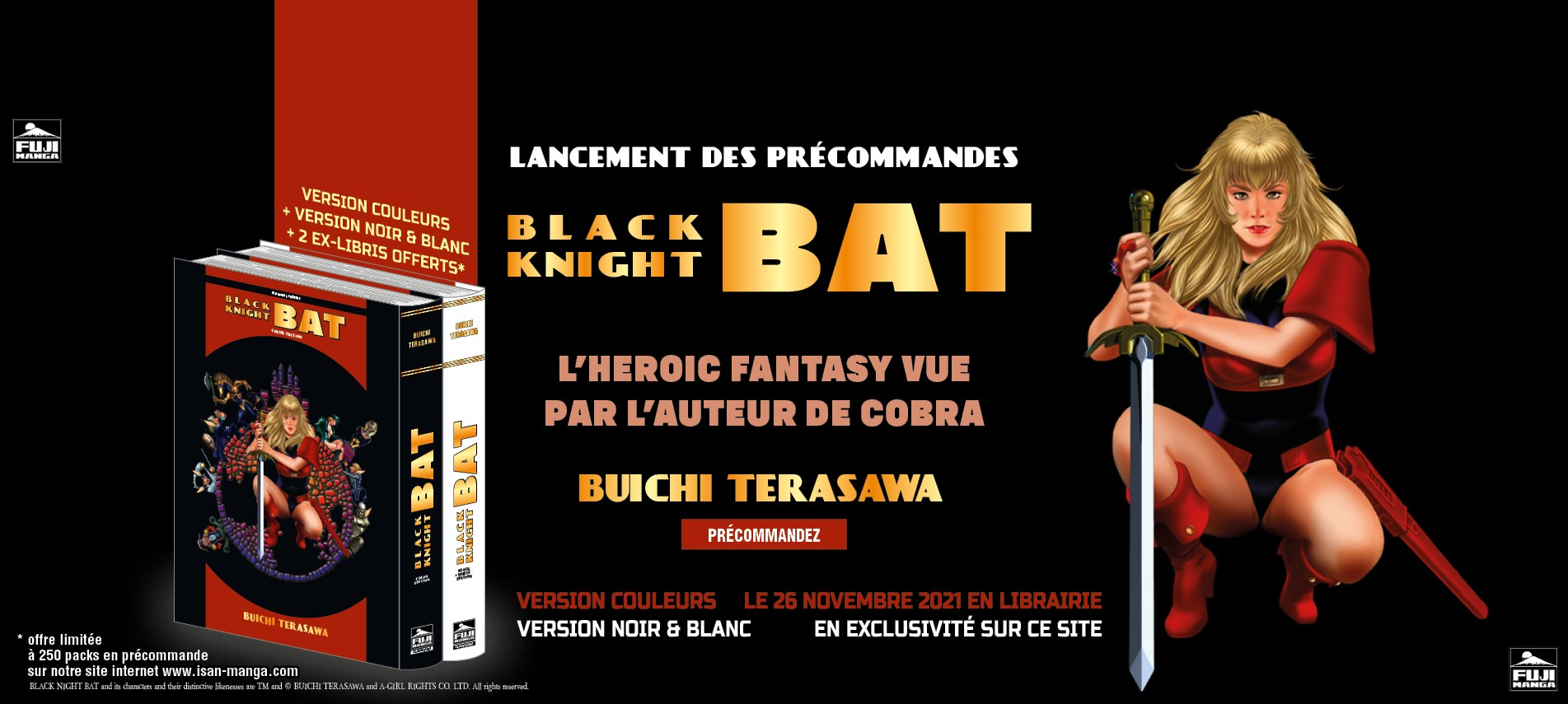 Black Knight BAT : l'Heroic Fantasy vu par Buichi TERASAWA