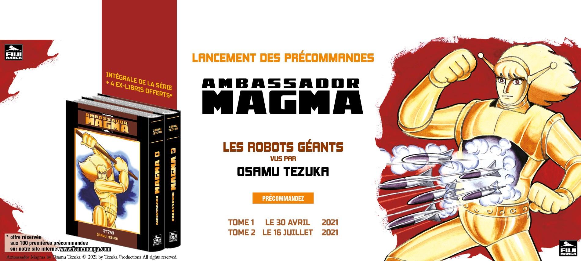 Ambassador Magma Intégrale de la Série